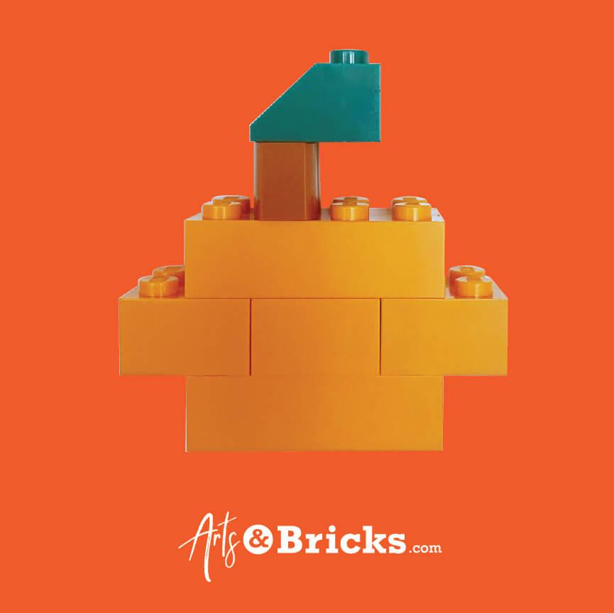 Lego Pumpkin - Halloween