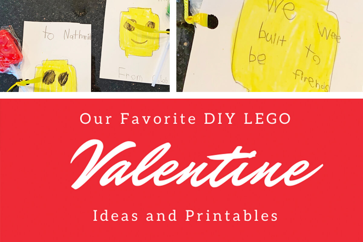 Favorite DIY LEGO Valentine Ideas and Printables