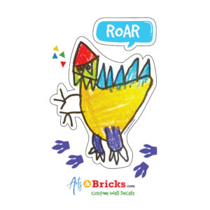 Kid Dinosaur Wall Sticker - Wall Decor