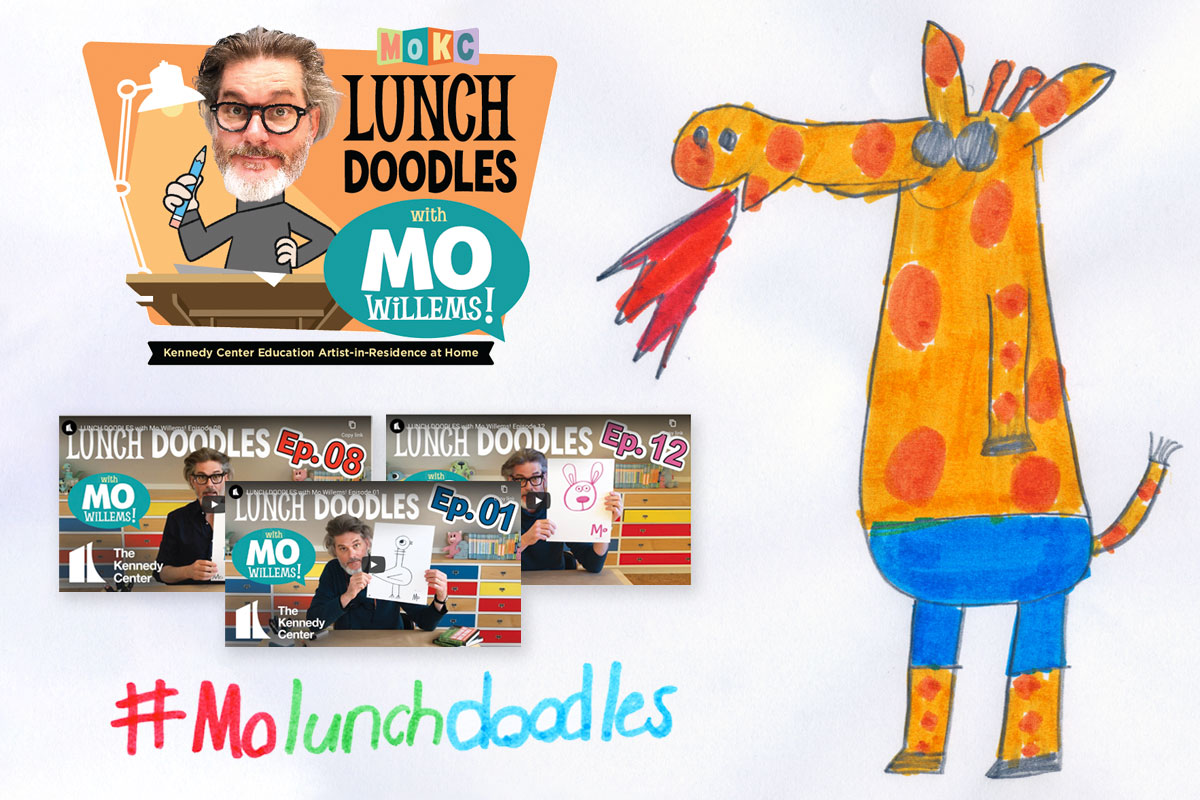 Doodling with Mo Willems