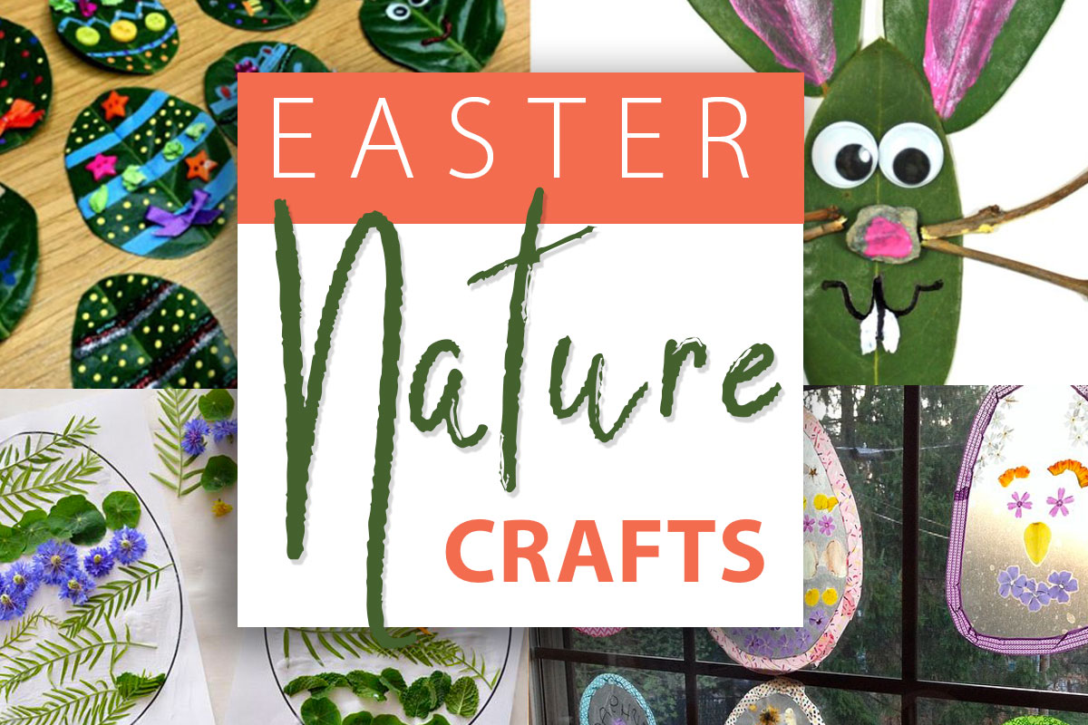 Easter Nature Crafts for Kids
