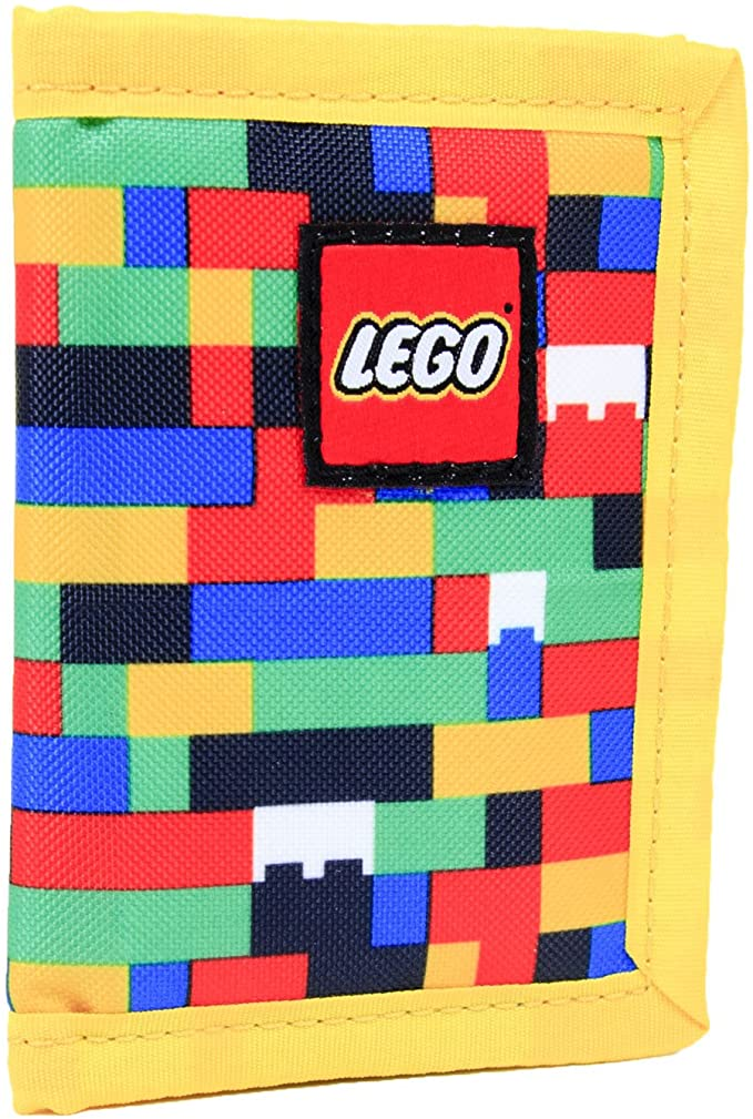 Looking for a LEGO gift? This colorful and durable LEGO wallet stores cash, gift cards and even has a slot for a minifigure or two.