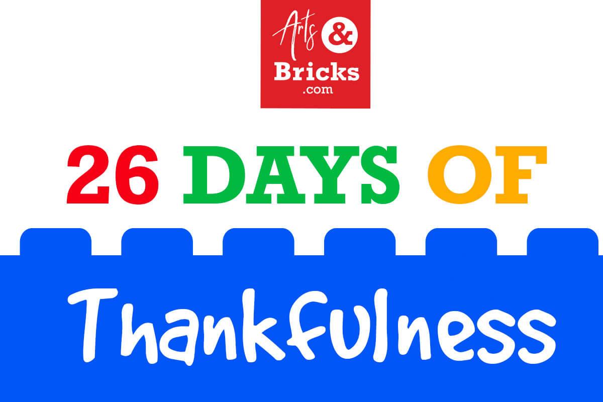 November 2020 - 26 Days of Thankfulness