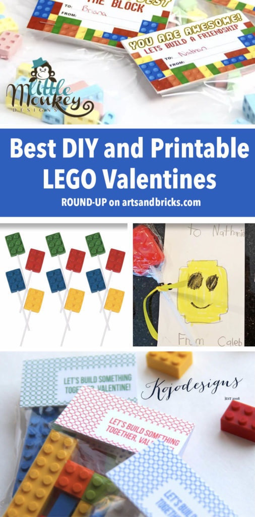 Check out this round up of our favorite DIY, Printables and More for LEGO Valentines