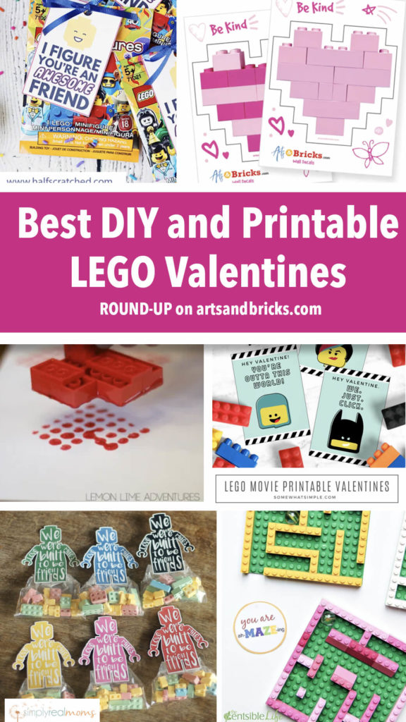Find inspiration in this BRICKTASTIC round-up of favorite LEGO DIY Valentines from Mom Blogs across the web! We hope you find something you love and that this helps you make this Valentine's Day great. Enjoy!