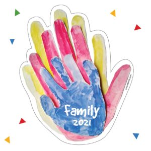 Family handprint home decor