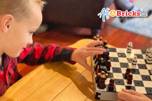 Kid review of iconic LEGO chess set 40174