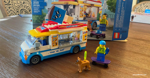 Kids review of LEGO Ice Cream Truck