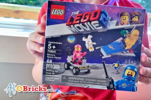 One of 2019's favorite LEGO Sets, four classic space minifigure astronauts make this a must buy!